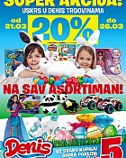 Denis Eurom akcija -20% popusta za igračke