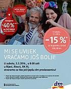 DM katalog Rijeka Riva otvorenje