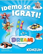 Konzum katalog igračaka Dream factory
