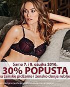 NKD akcija -30% pidžame i donje rublje