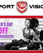 Sport Vision akcija -20% popusta na žensku kolekciju
