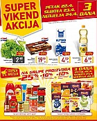 Billa vikend akcija do 24.4.