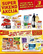 Billa vikend akcija do 1.5.