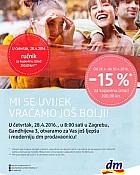 DM katalog Gajnice otvorenje