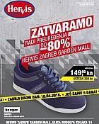 Hervis katalog Garden Mall Zagreb