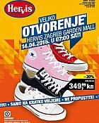 Hervis katalog Garden Mall Zagreb otvorenje