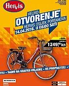 Hervis katalog Portanova Osijek otvorenje
