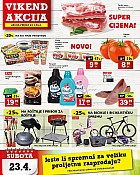 Konzum vikend akcija do 24.4.