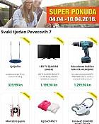 Pevecov katalog Pevecovih 7 do 10.4.