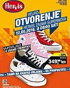 Hervis katalog Zadar otvorenje