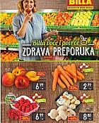 Billa katalog voće i povrće do 6.7.