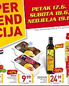 Billa vikend akcija do 19.6.