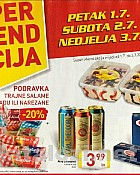 Billa vikend akcija do 3.7.