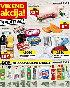 Konzum vikend akcija do 3.7.