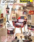 Lesnina katalog Detalji koji čine dom