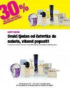 Bipa vikend akcija -30% parfemi i parfemski setovi