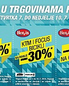 Hervis vikend akcija do 10.7.