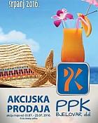 PPK Bjelovar katalog srpanj 2016