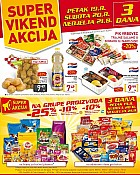Billa vikend akcija do 21.8.