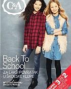 C&A katalog Natrag u školu