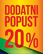 Intersport -20% dodatnog popusta