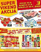 Billa vikend akcija do 18.9.