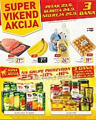 Billa vikend akcija do 25.9.