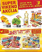 Billa vikend akcija do 2.10.
