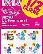 Bipa katalog Vukovar otvorenje