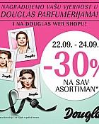 Douglas akcija -30% na cijeli asortiman
