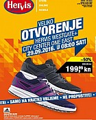 Hervis katalog Otvorenje West Gate i City Center