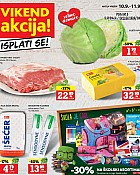 Konzum vikend akcija do 11.9.