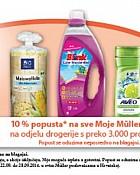 Muller kupon -10% popusta Moje Muller marke