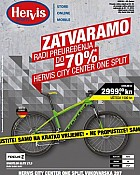 Hervis katalog City Center Split zatvaranje