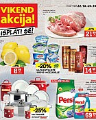 Konzum vikend akcija do 23.10.