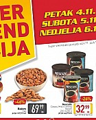 Billa vikend akcija do 6.11.