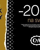 C&A akcija Black friday -20% popusta na sve