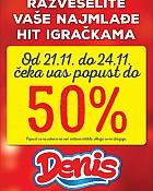 Denis akcija -50% na igračke