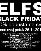 ELFS akcija Black Friday