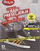 Hervis katalog City West zatvaranje