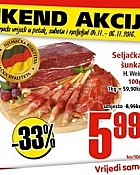 Interspar vikend akcija do 6.11.