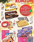 Konzum katalog Volimo blagdane slatkiši