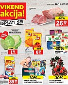 Konzum vikend akcija do 27.11.
