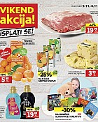 Konzum vikend akcija do 6.11.