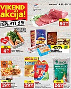 Konzum vikend akcija do 20.11.