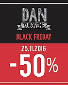 Modiana akcija Black friday -50% popusta