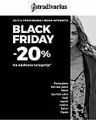 Stradivarius akcija Black Friday