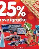 Interspar šparna subota -25% igračke