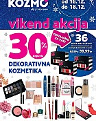 Kozmo vikend akcija -30% dekorativna kozmetika