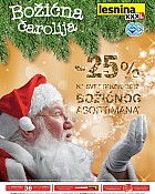 Lesnina akcija -25% na božićni asortiman